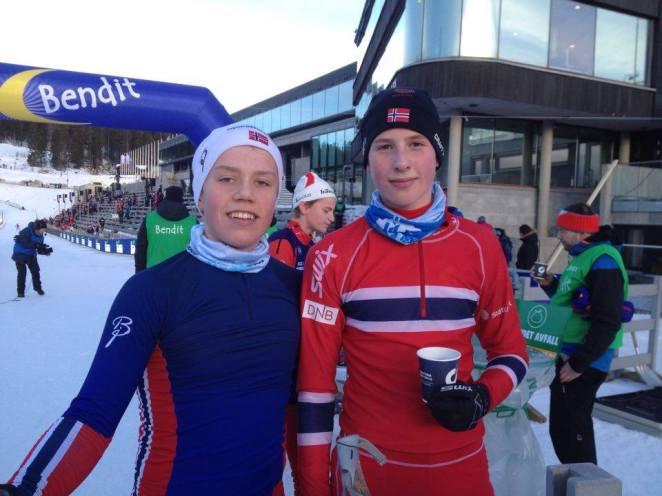 Lasse og Bendik Kvalfossprinten