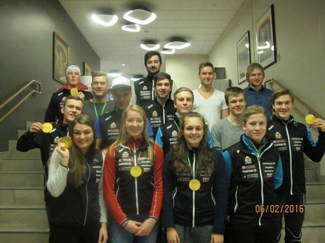 Nordfjord team 060216